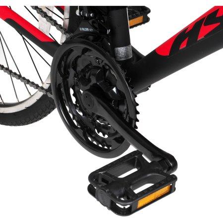 Black//Red Hyper 700c Men/'s SpinFit Hybrid Bike