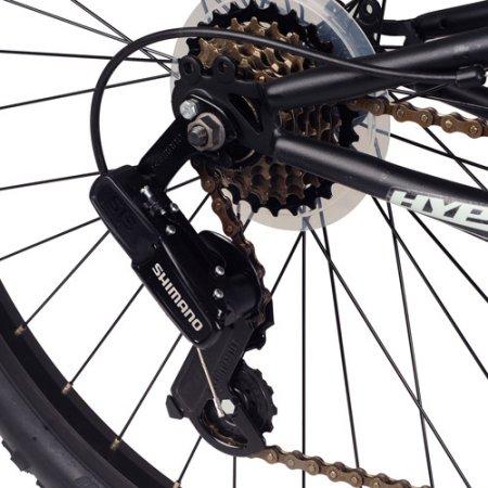 26″ Hyper Havoc Full Suspension Men's Mountain Bike, Black | Hyper