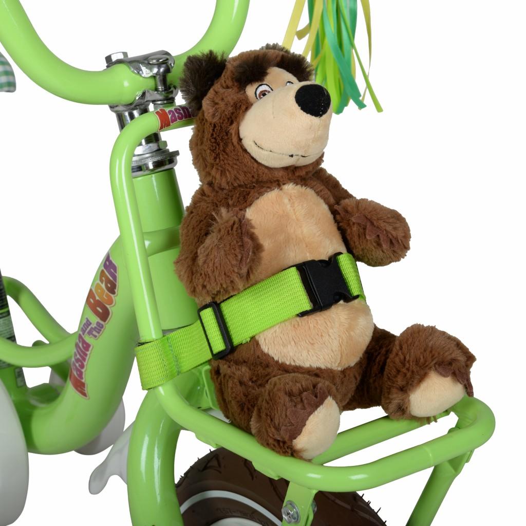12 Masha And The Bear Bike Hyper Toy Company