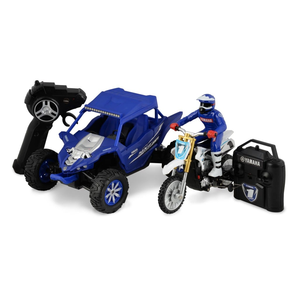 1 18 scale yamaha yzx 1000r 1 12 scale yz450f combo pack. Black Bedroom Furniture Sets. Home Design Ideas